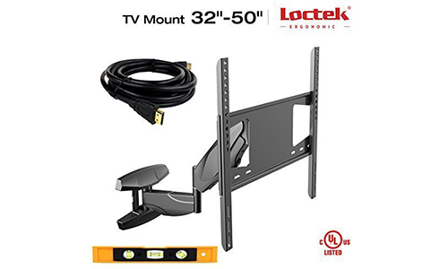 Loctek Articulating Arm TV LCD Monitor Wall Mount