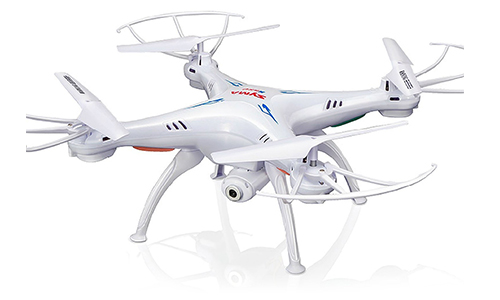 CHEERWING SYMA X5SW-V3 FPV EXPLORERS2 2.4 GHz 6-AXIS GYRO RC HEADLESS QUADCOPTER DRONE UFO WITH HD WIFI CAMERA (WHITE)