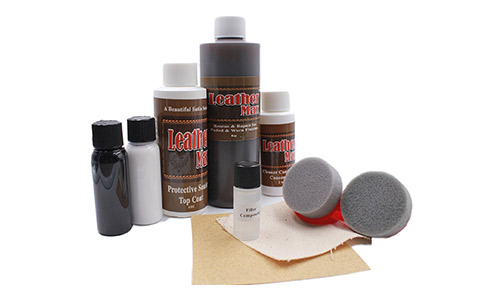 Furniture Leather Max MEGA Kit and Leather Restorer