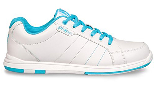 These Youth Satin Bowling Shoes are included in the list of top 5 best bowling shoes for kids in They come up in White and Aqua colors. They have a decent look and are a little bit similar to the superstar shoes getting very common these days. These bowling shoes are made up of synthetic fiber and have universal soles.