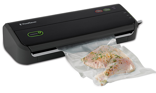 Food Saver Vacuum Sealer with Starter Bag/ Roll Set: