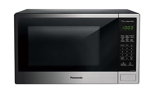 Panasonic NN-SU696S Countertop Microwave Oven with Genius Cooking Sensor and Popcorn Button