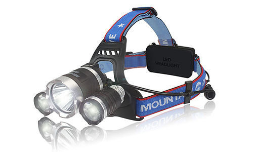 Rechargeable XML T6 CREE Led Hiking Headlamp Flashlight