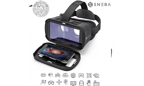 Sneba 3D VR Glasses