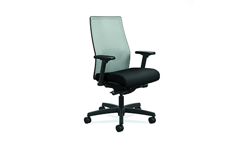 HON Ignition 2.0 Mid-Back Adjustable Lumbar Work Chair
