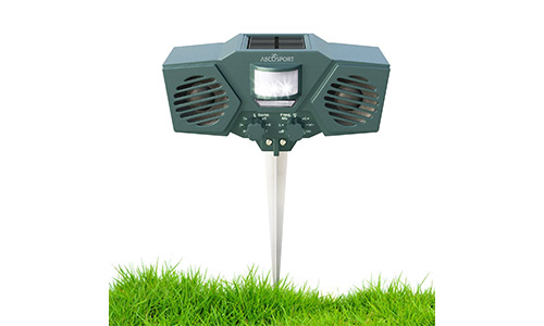 Ultrasonic Solar Animal & Pest Repeller