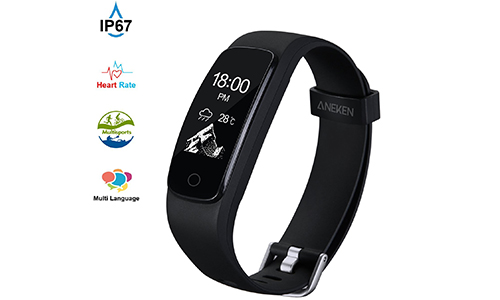 Aneken Activity Tracker with Heart Rate Monitor