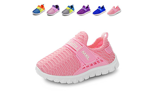 CIOR Kids Breathable Slip-On Sneakers: