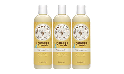 Burt's Bees Baby Shampoo and Wash (Fragrance-Free)