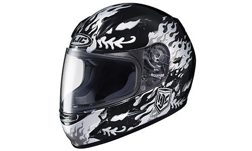HJC 0819-2905-56 CL-Y Flame Face Youth Helmet