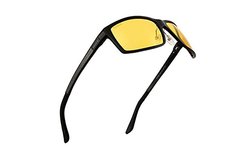 Anti-Glare Polarized Yellow Lens Day & Night Driving Glasses