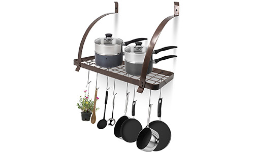Top 5 Best Pot Racks in 2019 Reviews