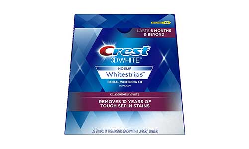 Crest 3D White Luxe Whitestrip Teeth Whitening Strips Kit