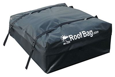 Roofbag waterproof | made in the USA | one year warranty | fits all cars: