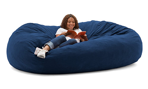 1Big Joe Fuf Foam Filled Bean Bag Chair