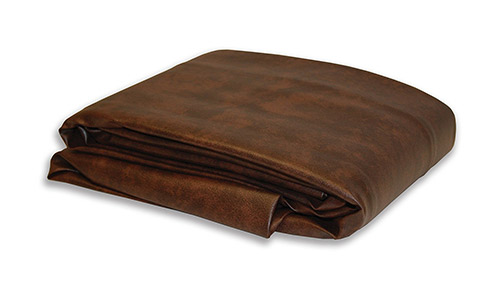 Yves Dark Brown Fitted Leatherette Pool Table Cover