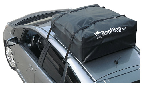 Roofbag 100% waterproof, made in the USA, premium triple seal for maximum protection, 2-year warranty