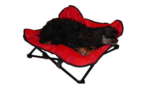 HDP Elevated Padded Napper Pet Bed