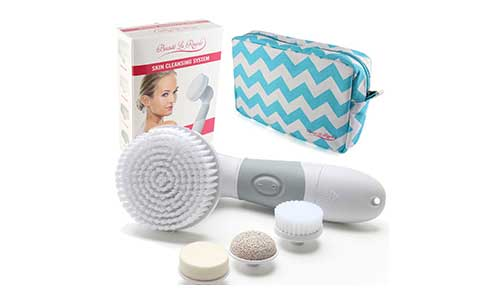 Waterproof Facial Brush Cleansing System