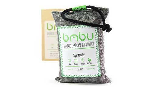 Bamboo Charcoal Car Deodorizer / Car Freshener Bag