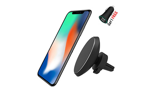 Neotrix Magnetic QI Wireless Car Charger Mount
