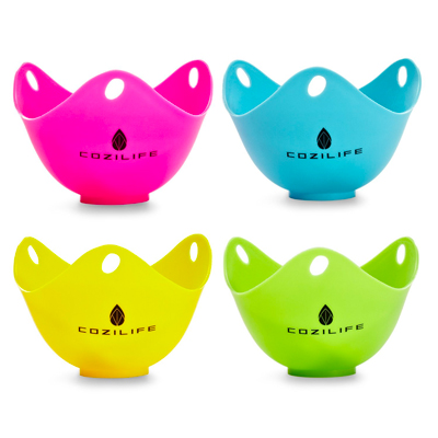 COZILIFE Silicone Egg Poaching Cups