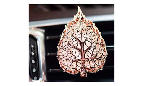 Leaf Locket Aromatherapy Essential Oil Car Air Freshener