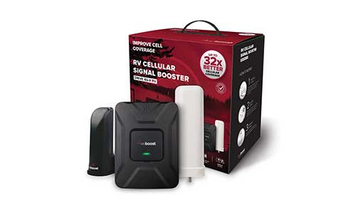 weBoost Drive 4G-X RV Cell Phone Signal Booster