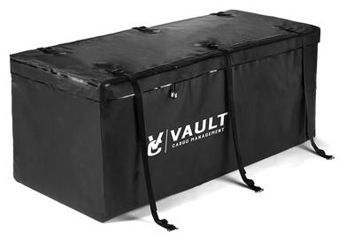 Hitch cargo carrier bag from vault cargo – 15 cubic feet - heavy-duty waterproof cargo hitch carrier bag perfect