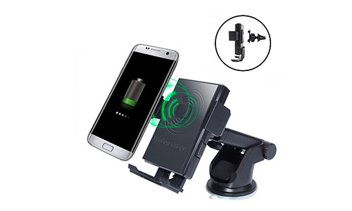 FA-STAR Wireless Charger Car Holder Wireless Cellphone Mount
