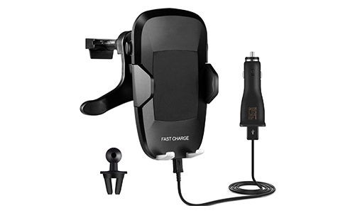 Woodeey Wireless Charger Car Mount