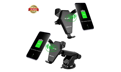 SSKJTC Qi Wireless Car Mount Charger