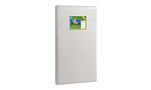 Sealy Soybean Foam-Core Infant/Toddler Crib Mattress.