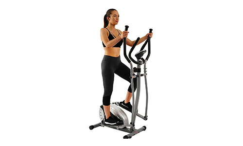 Elliptical Trainer with Hand Pulse Monitoring System.