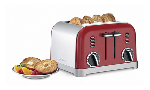 Metal Classic 4-Slice Toaster by Cuisinart