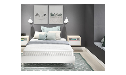 Signature Sleep Contour 8 Inch Reversible Independently-Encased Coil Mattress.