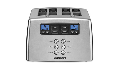 Touch to Toast Leverless 4-Slice Toaster by Cuisinart