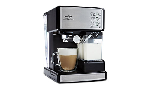 #Mr. Coffee Cafe Barista Espresso and Cappuccino Maker