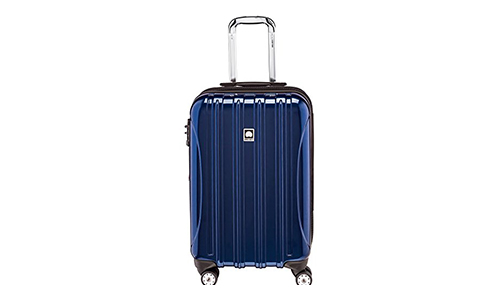 Delsey Luggage Helium Aero Carry-On Spinner Trolley