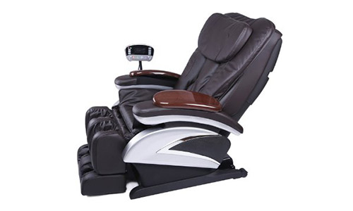 Electric Full Body Shiatsu Brwon Massage Chair.