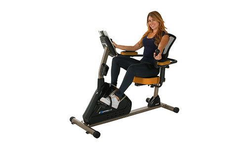 Exerpeutic 4000 magnetic Recumbent Bike.