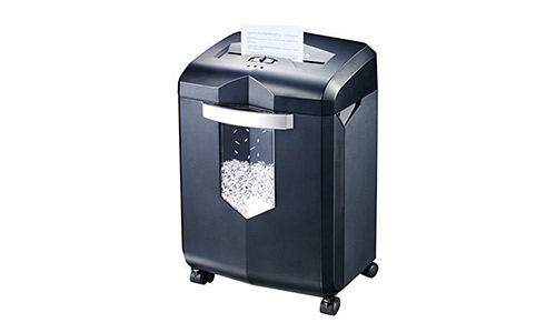 Bonsaii EverShred C149-C 18-Sheet Cross-cut Shredder Wastebasket Capacity