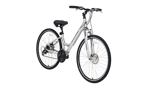 BikeHard LadyCruiz Disc Ladies Fit Polished Aluminum Bike