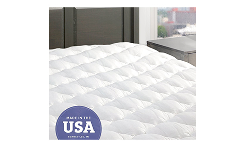 Five Star Mattress Pad with Fitted Skirt - Hypoallergenic Mattress Cover