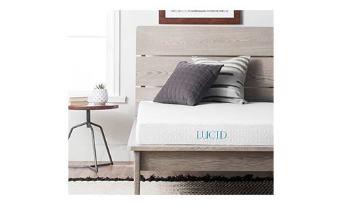 Lucid 5 Inch Gel Memory Foam Mattress.