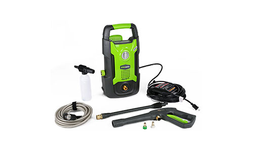 Greenworks 1500 PSI 13 AMP 1.2 GPM Pressure Washer.