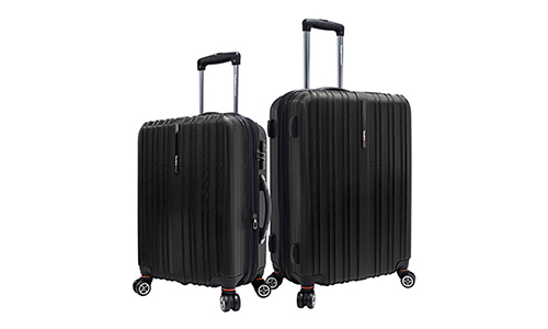 Traveler's Choice Tasmania 100% Pure Polycarbonate 2-Piece Spinner Luggage