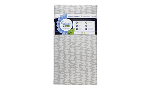 Lullaby Earth Healthy Support crib mattress.