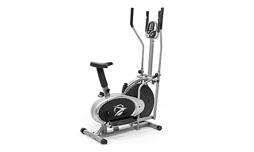 Plasma Fit Elliptical Machine Cross Trainer 2 in 1 Exercise Bike.