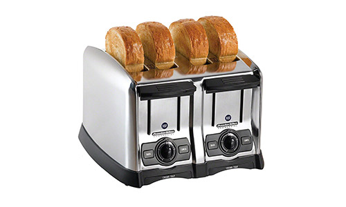4-Slice Extra-Wide Slot Commercial Toaster by Proctor Silex